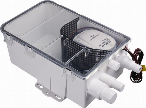 12V Shower Sump Pump Systems